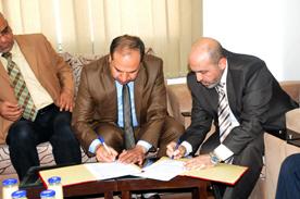 جامعة الأمة توقع اتفاقية تعاون مع وزارة المالية لتسديد رسوم الطلبة عبر المستحقات المالية