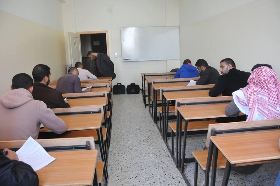 بدء الاختبارات النصفية في كلية مجتمع الأمة للدراسات المتوسطة