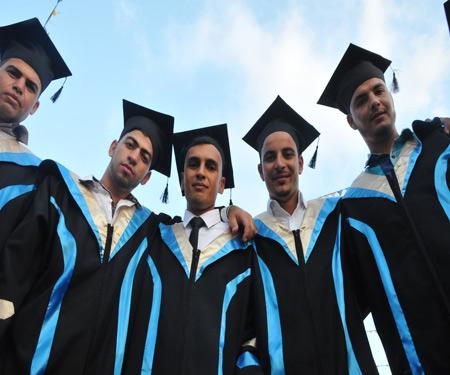 اعلان بخصوص تدريب الخريجين على حفل التخرج