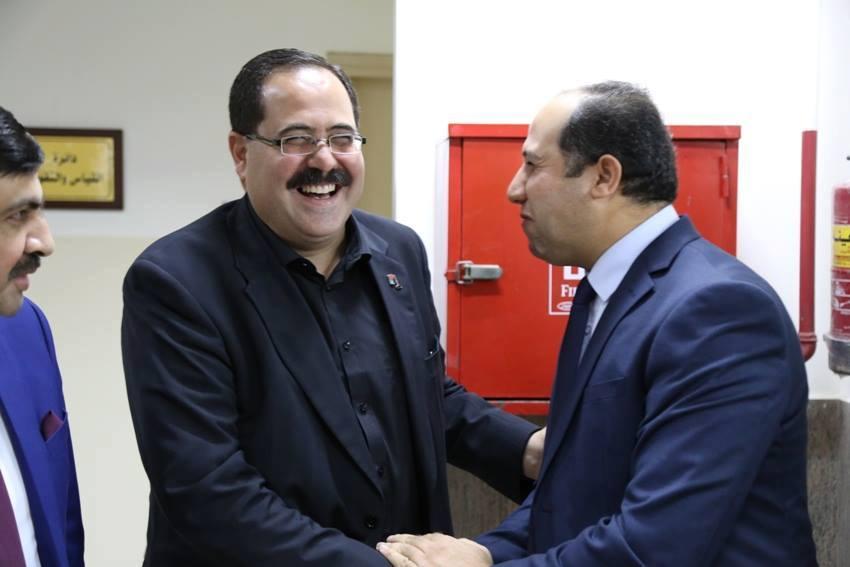 جامعة الأمة تشارك في لقاء رؤساء الجامعات مع وزير التربية التعليم العالي د. صبري صيدم.