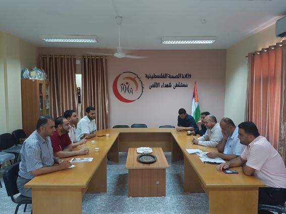 في المحافظة الوسطى جامعة الأمة تنظم حملة تواصل مع العديد من مؤسسات المجتمع المحلي