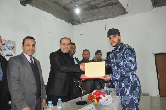 تنظيم نشاط  المهارات العملياتية لأفراد الشرطة