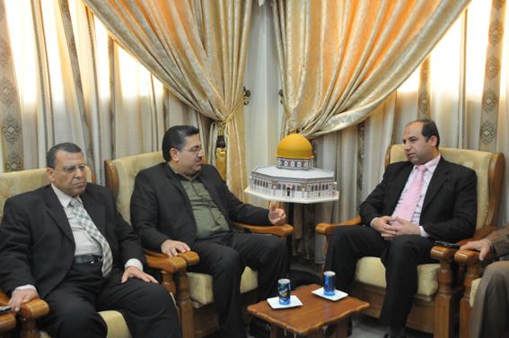 رئاسة جامعة الأمة تستقبل وفد من هيئة الشخصيات المستقلة