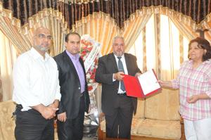 توقيع اتفاقية مع مؤسسة الضمير
